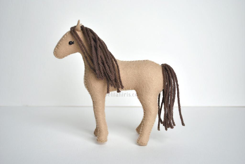 Waldorf Felt Horse