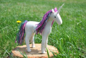felt unicorn toy