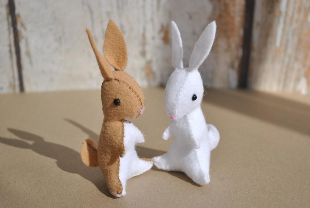 felt animal patterns - sew your own stuffed animals