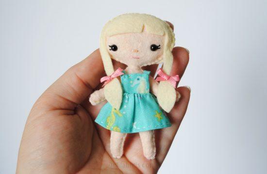 tiny doll pattern