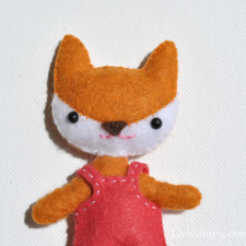 Mini Fox Doll