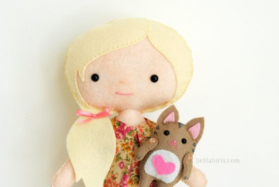 cat and doll pattern