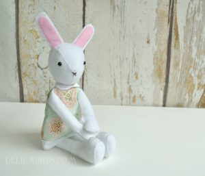 bunny doll sewing patten
