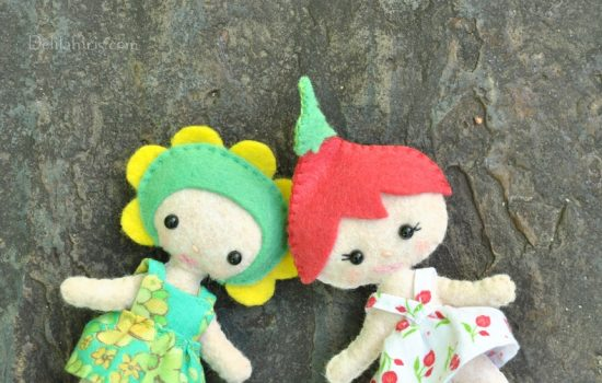 felt fairy doll pattern