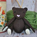 free teddy bear sewing pattern