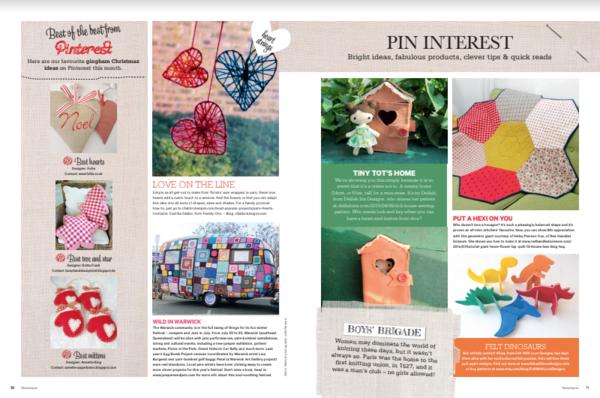 Delilah Iris Artist Homespun Magazine