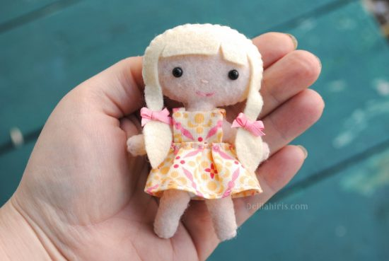 kawaii doll pattern