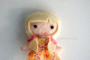 miniature doll sewing pattern