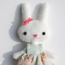 Mini Bunny Doll