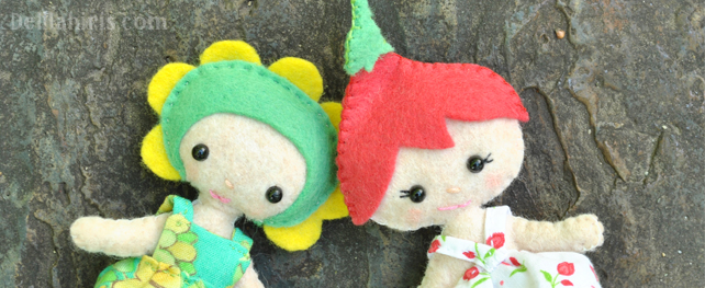 flower pixie doll patterns