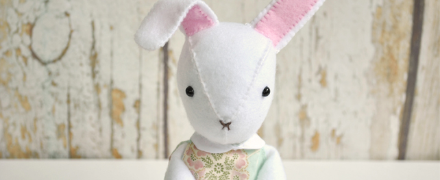 bunny doll sewing pattern