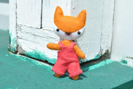 fox doll pattern