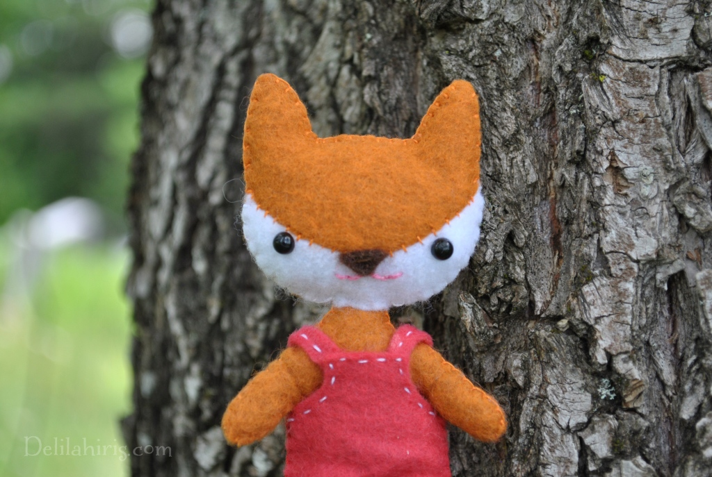 fox doll sewing pattern