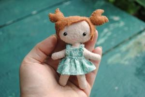 mini doll sewing pattern