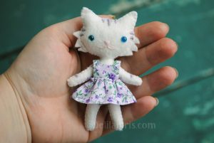 make cat doll