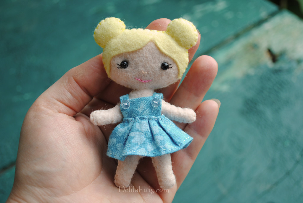 mini pocket doll