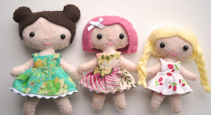 custom tiny dolls