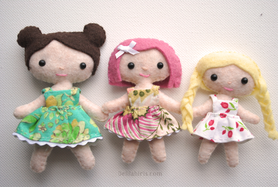 Newest Handmade Dolls And Patterns Delilah Iris