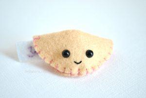 kawaii felt fortune cookie