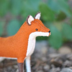 fox stuffed animal pattern
