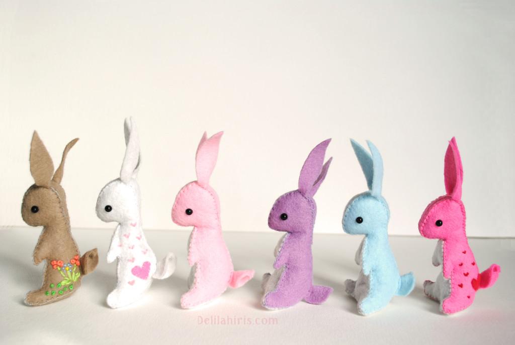 Itty Bitty Bunny Pattern Delilah Iris
