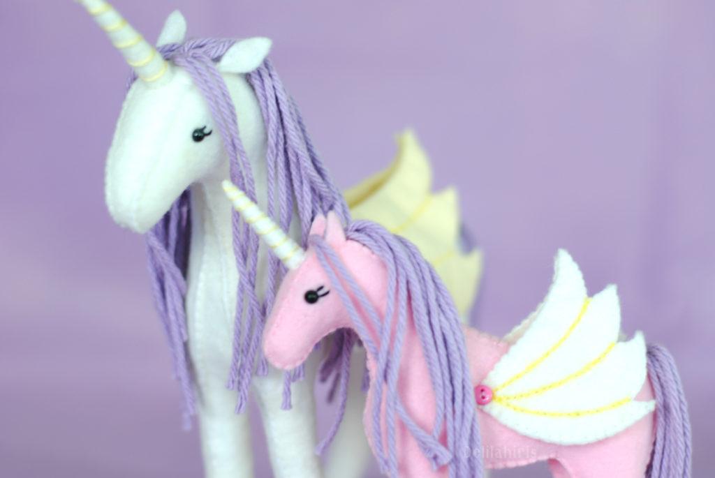 stuffed unicorn pattern