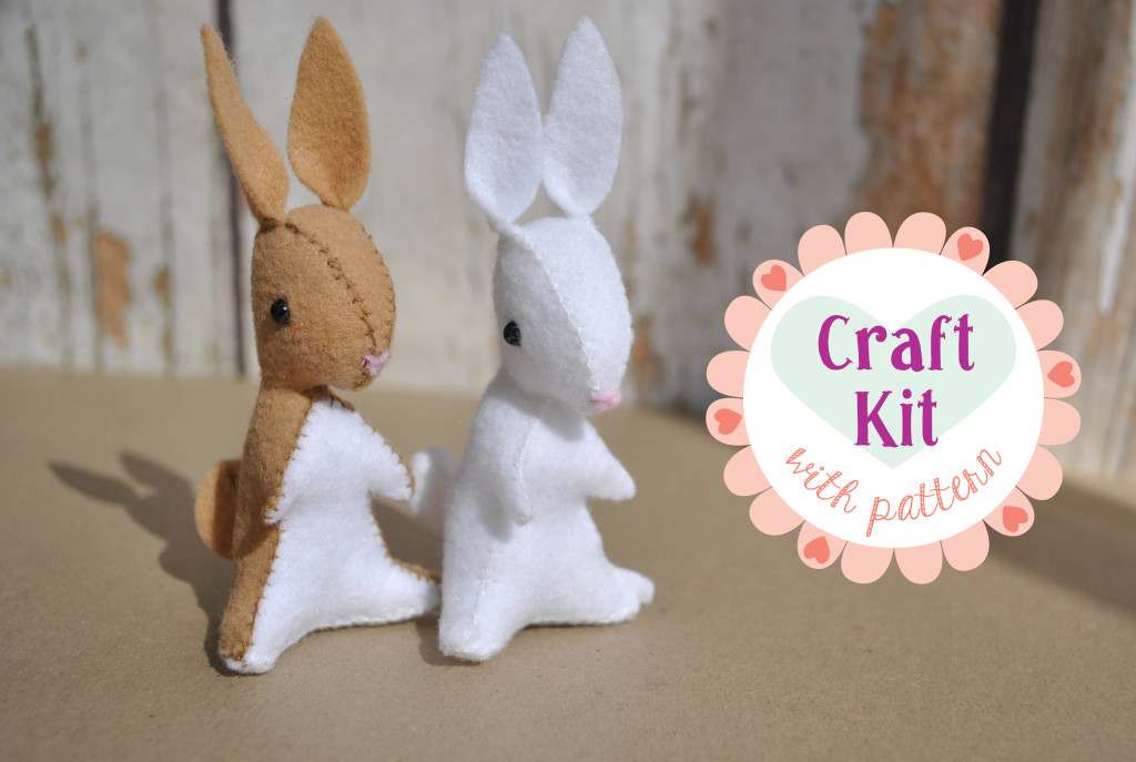bunny craft kit