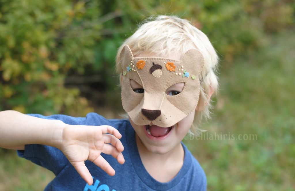 felt mask pattern