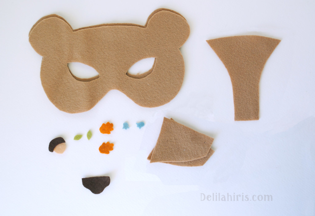 DIY felt mask tutorial