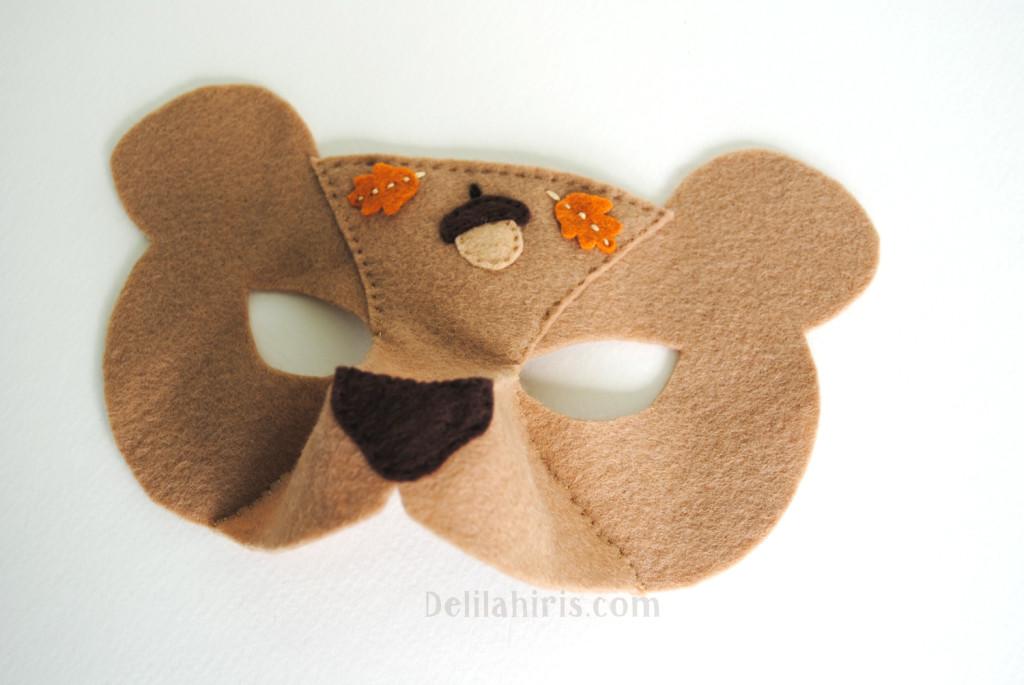DIY Bear Mask
