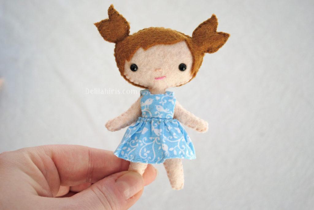 diy felt doll kit