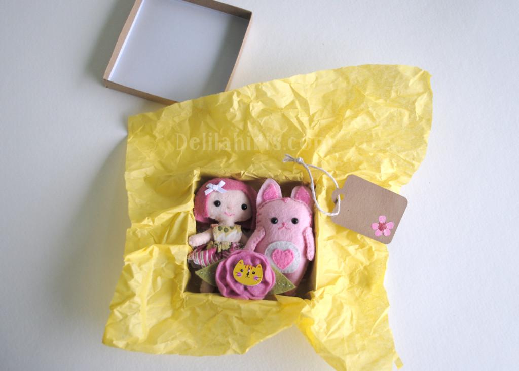 box of whimsy felt dolls gift club