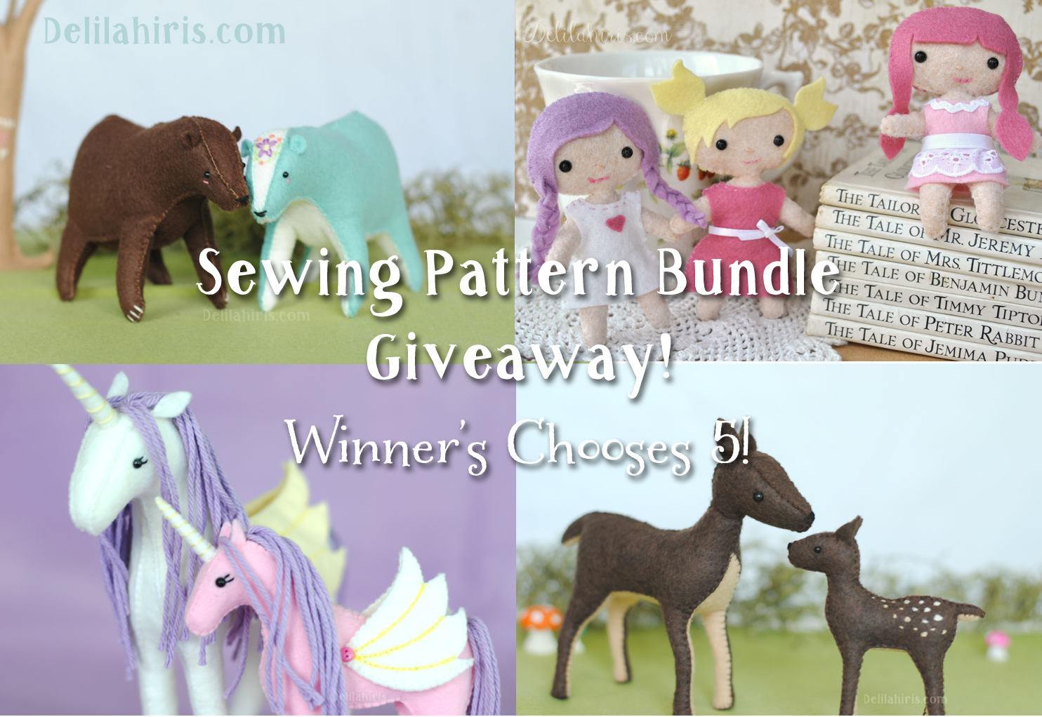 toy sewing pattern giveaway