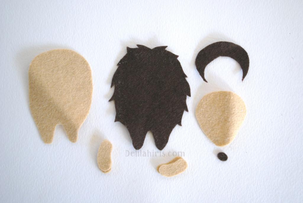 stuffed hedgehog pattern