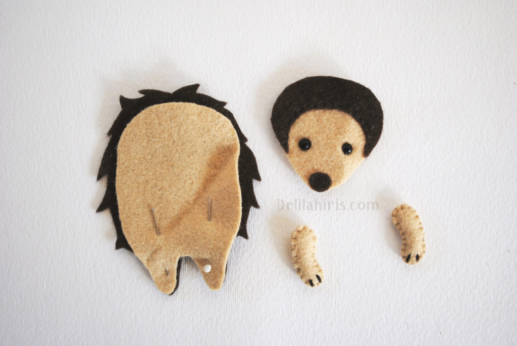 stuffed hedgehog pattern