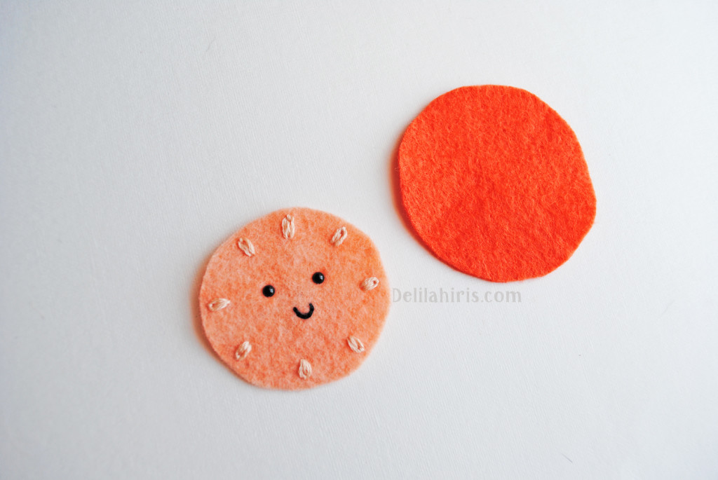 felt brooch pattern