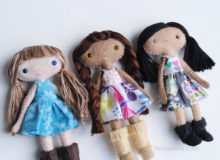 A New Felt Doll Sewing Pattern