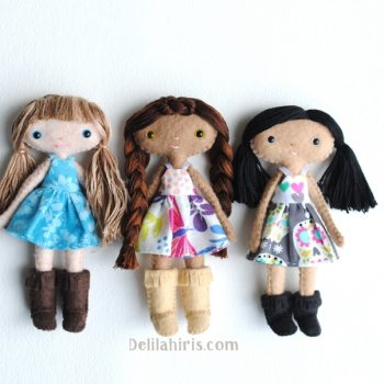 tiny doll sewing pattern