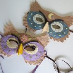felt owl mask pattern