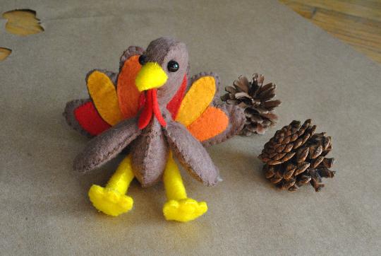 felt turkey sewing pattern