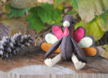 Turkey Stuffed Animal Pattern