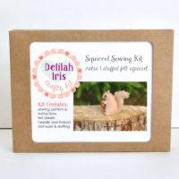 stuffed Squirrel Sewing Kit