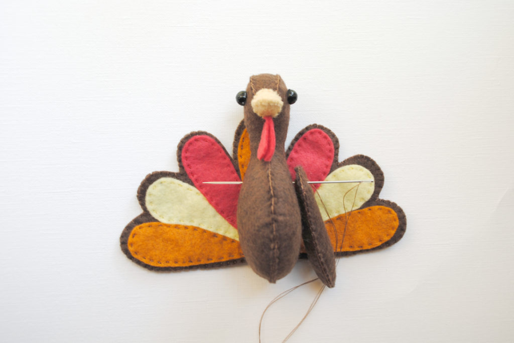 turkey stuffed animal pattern
