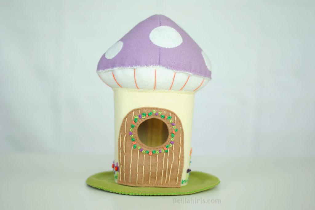 mushroom dollhouse