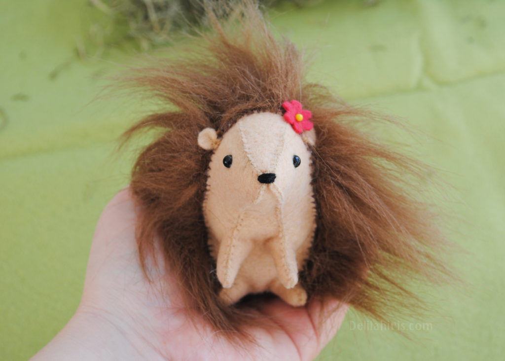 DIY Hedgehog Plush