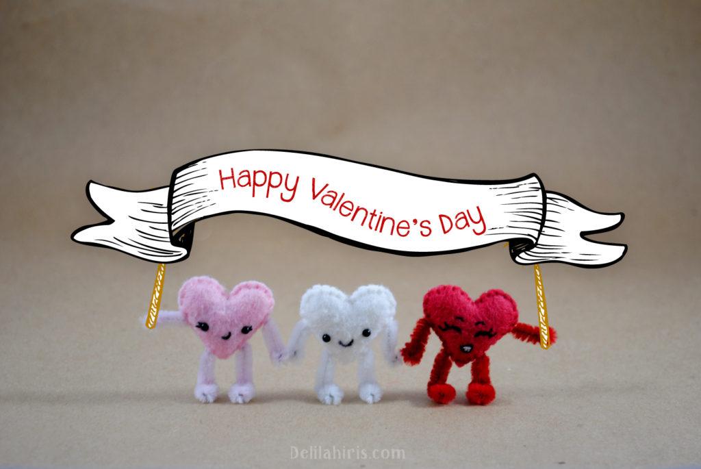 felt valentines day craft