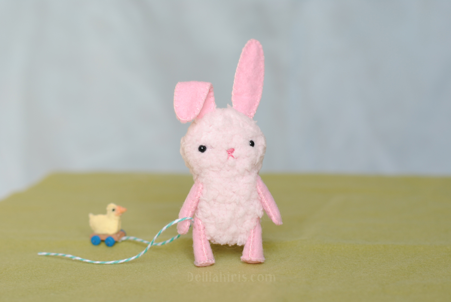 free easter bunny sewing pattern
