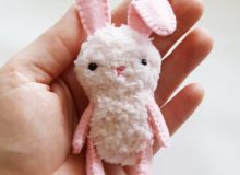 Plush Easter Bunny Sewing Pattern