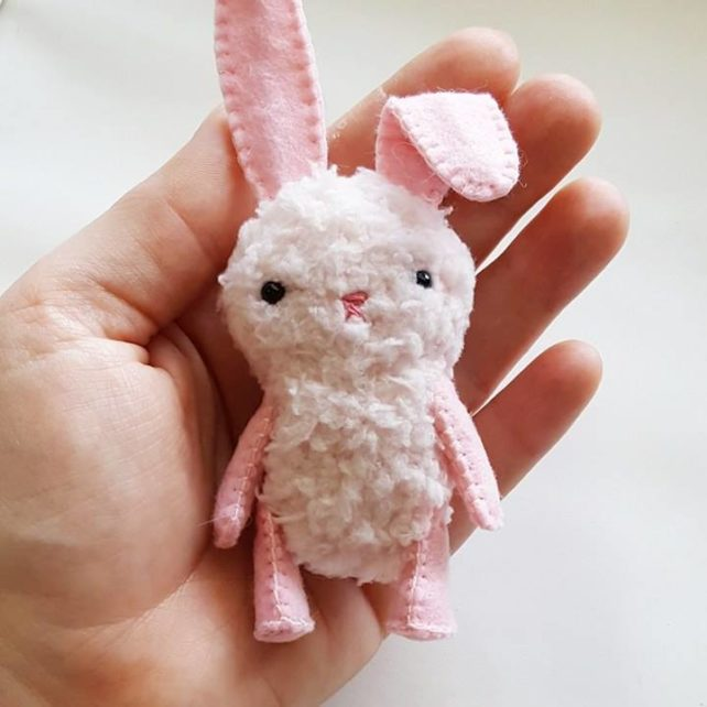 Plush Easter Bunny Sewing Pattern – Sew Your Own Plush Rabbit Dolls!