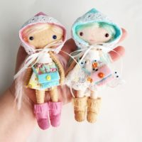 dollhouse doll sewing pattern